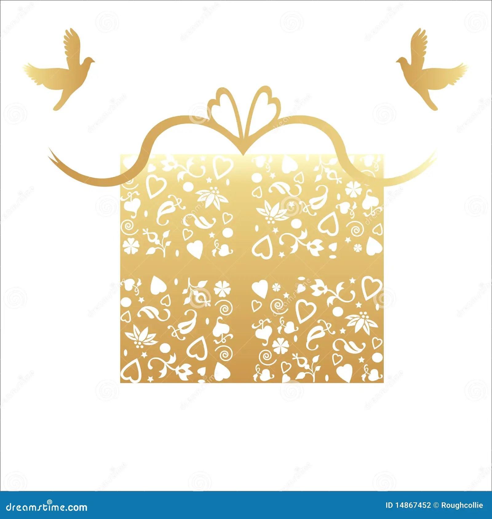 Cinquantieme Carte D Or De Cadeau D Anniversaire De