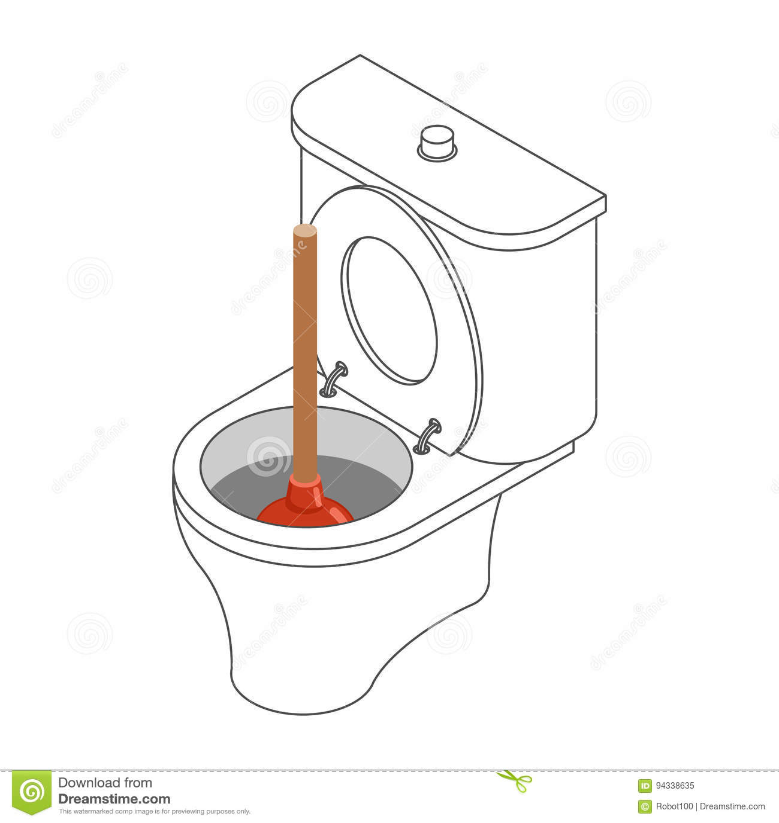 Restroom Illustrazioni Vettoriali E Clipart Stock