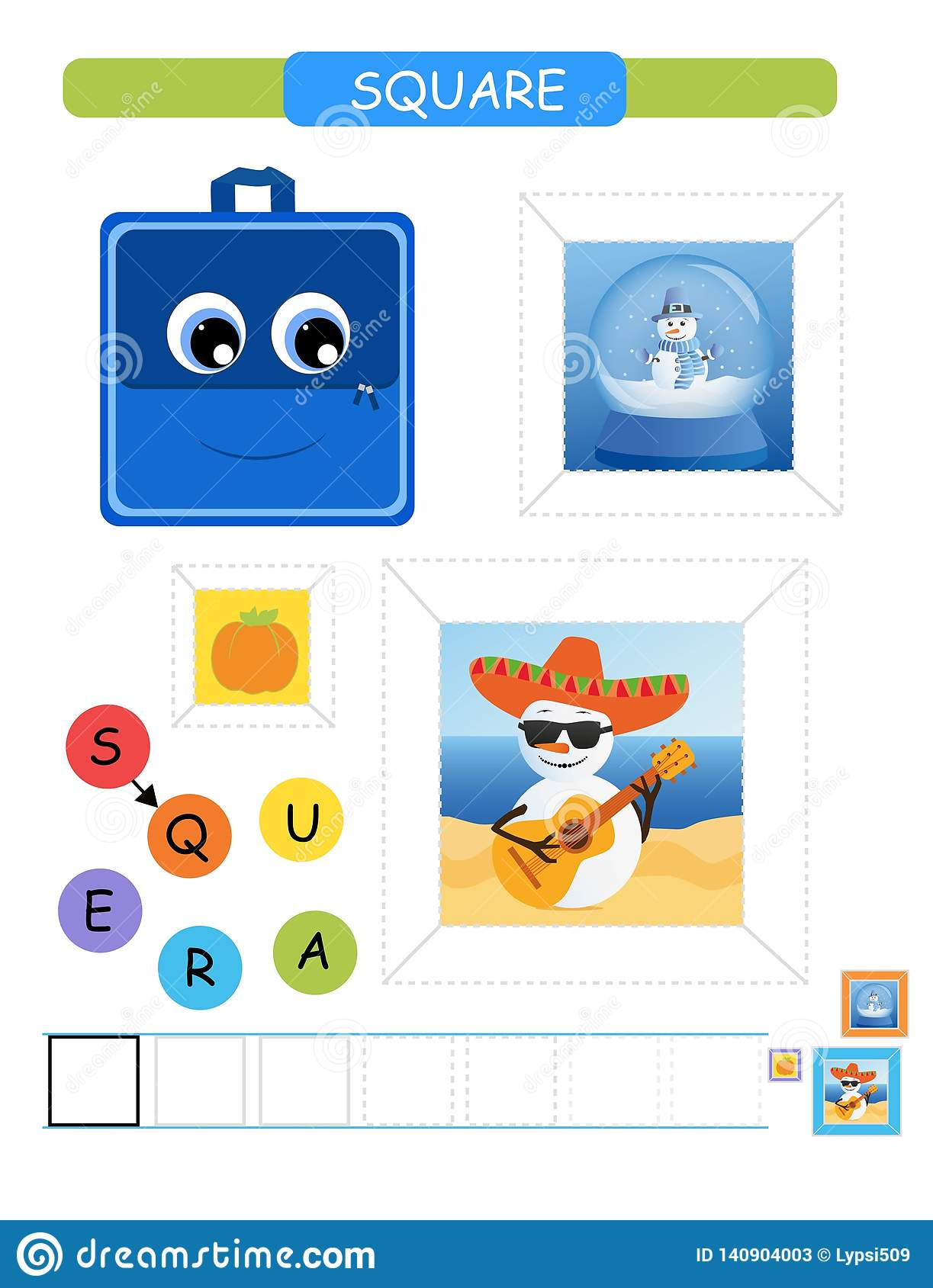 Learn Shapes And Geometric Figures For Preschool And