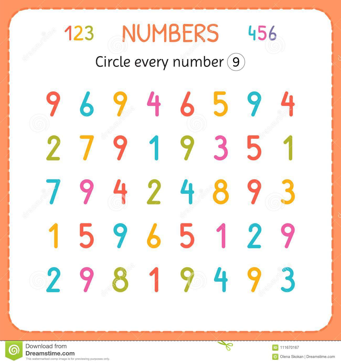 Circle Worksheets Preschool