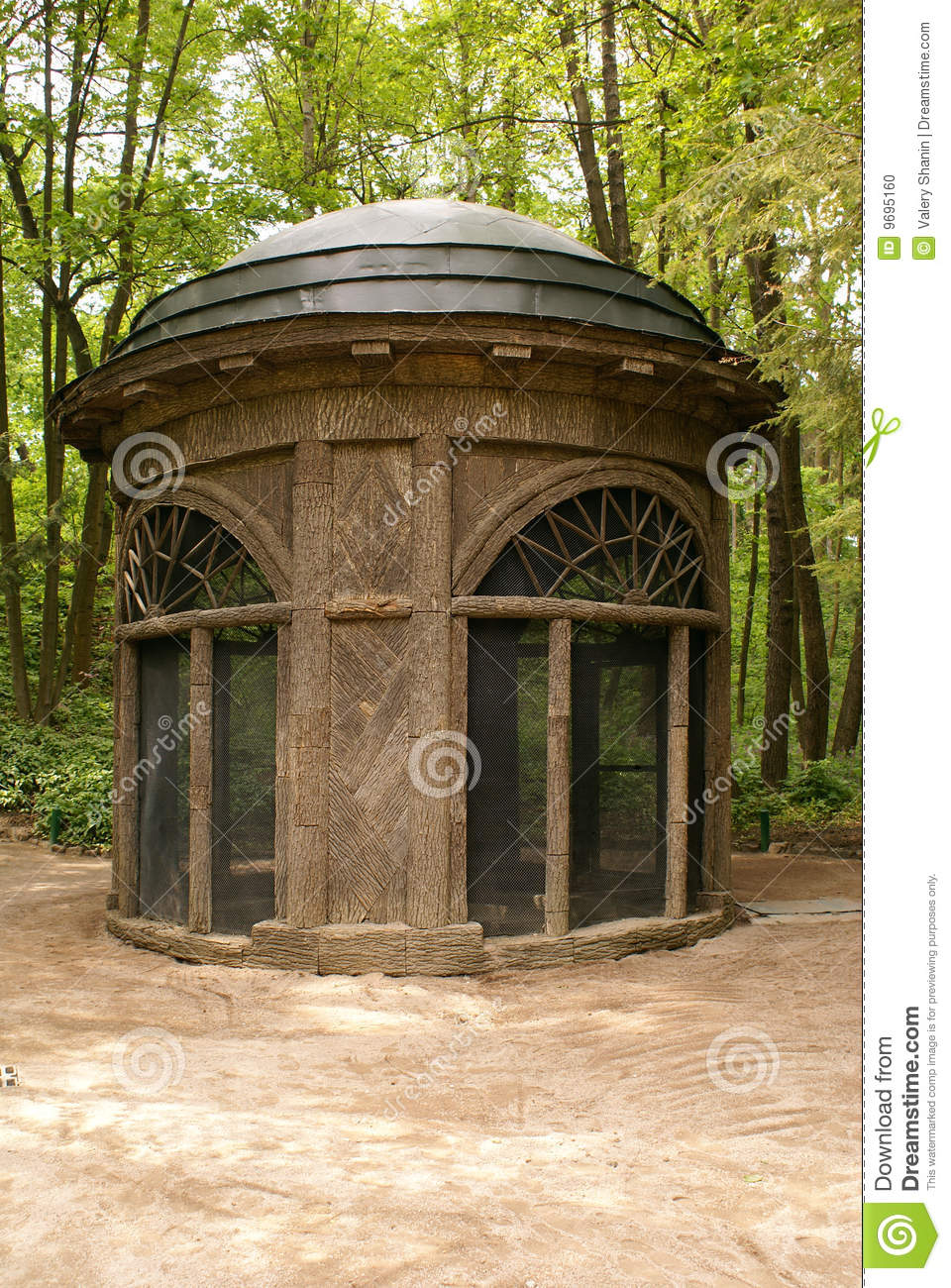 Circle house stock photo Image of facade ground house  9695160
