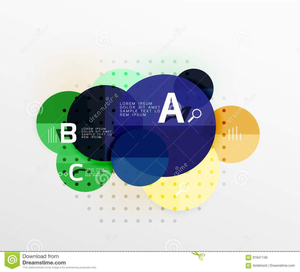 medium resolution of circle modern geometry infographic background vector template background for workflow layout diagram number options or web design