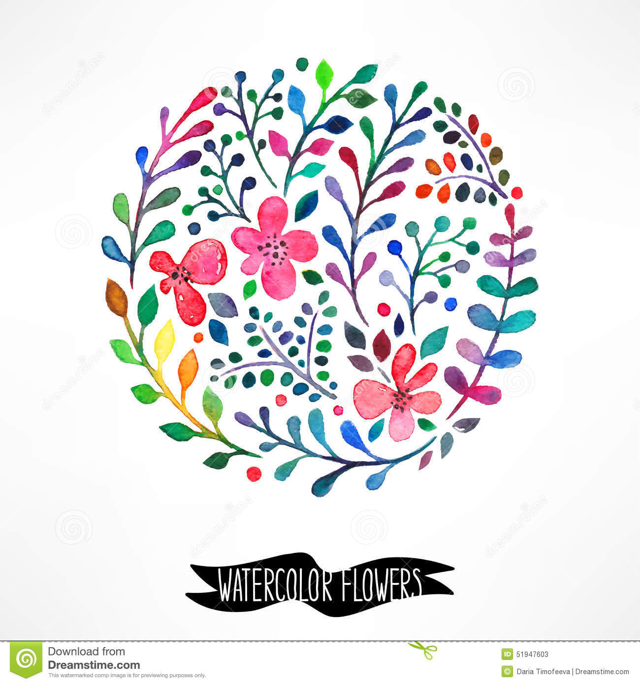 Most Inspiring Wallpaper Marble Bible Verse - circle-watercolor-flowers-beautiful-card-place-text-51947603  Graphic_2735100.jpg