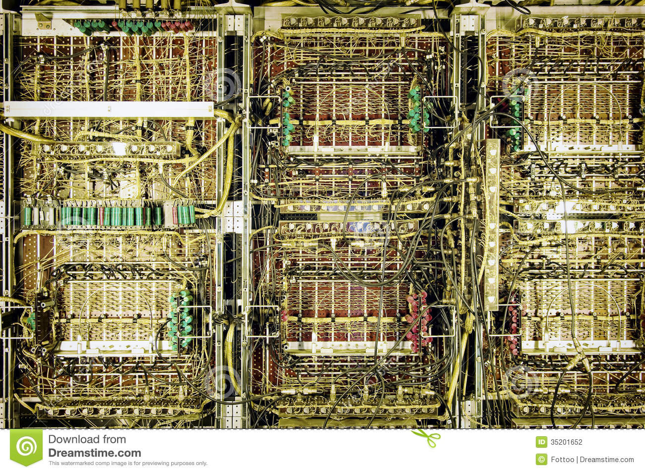 Circuit Board Computer Part Royalty Free Stock Image Image