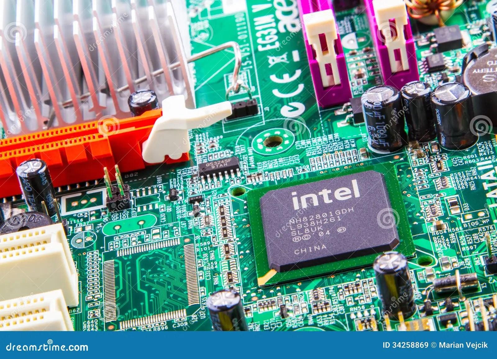 Circuit Board Editorial Stock Image. Image Of Circuit