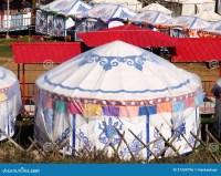 Circular Ger Tent Royalty Free Stock Image - Image: 27209796