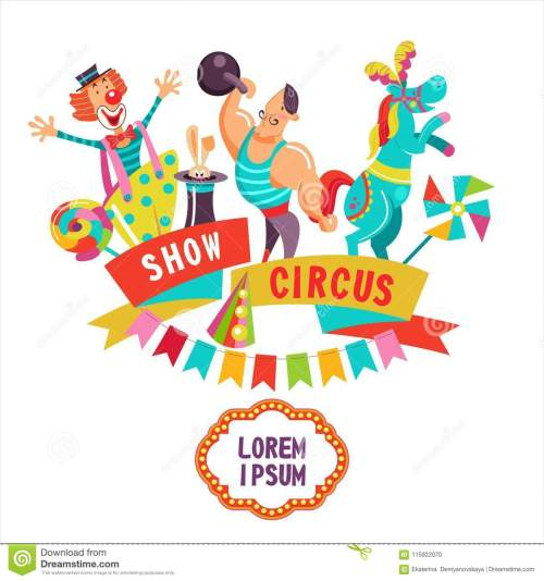 small resolution of circus clipart circus artists and a fun trained horse