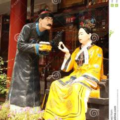 Chair Design Restaurant Dx Racing Cisi Woman Emperor Of China And Her Servant Editorial Stock Photo - Image: 15648783