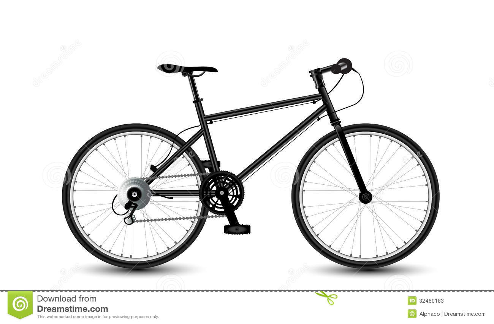 City Bike Stock Photos