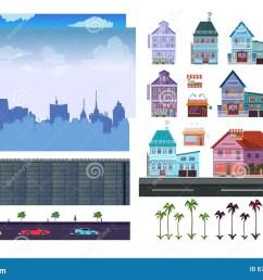 city kit stock illustrations 868 city kit stock illustrations vectors clipart dreamstime [ 1300 x 952 Pixel ]