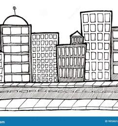 cityscape street and sidewalk [ 1300 x 987 Pixel ]