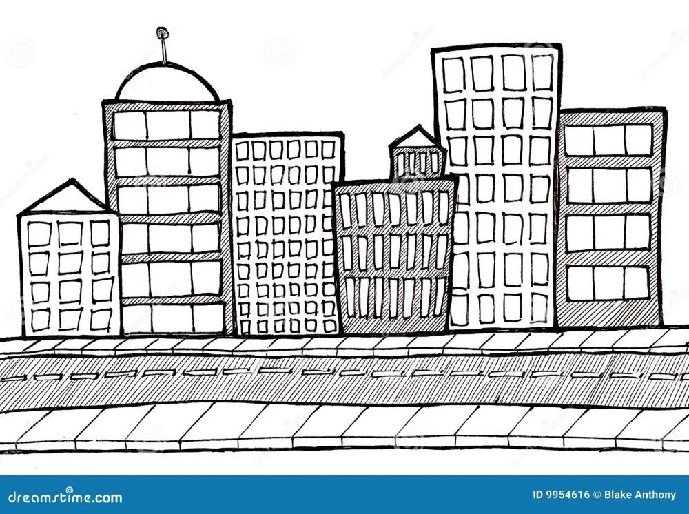 medium resolution of cityscape street and sidewalk