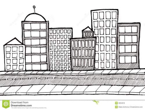 small resolution of cityscape street and sidewalk
