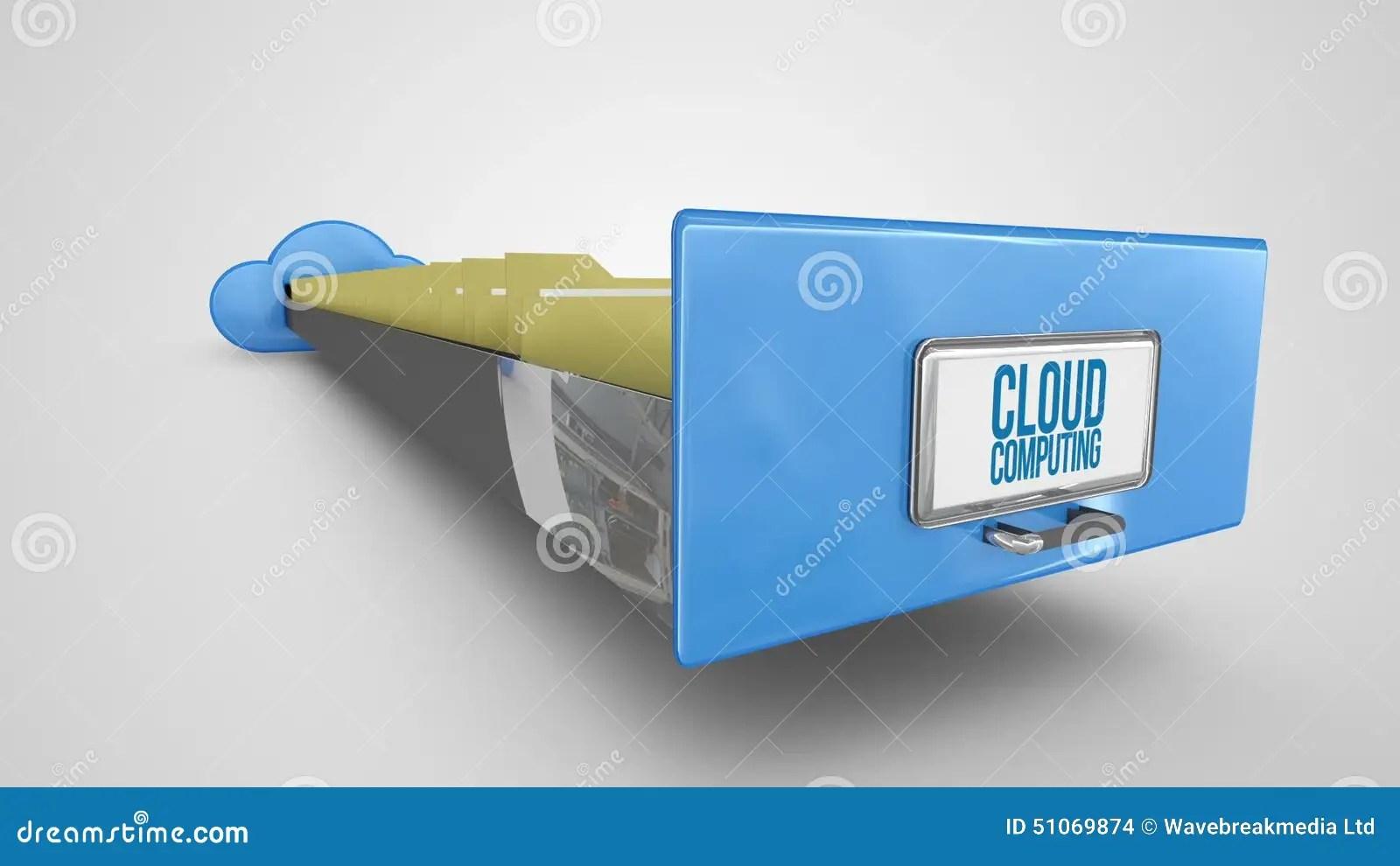 classeur de calcul de nuage sur le fond blanc banque de videos video du technologie calcul 51069874