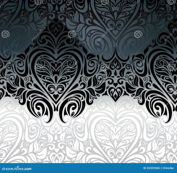 Black and White Invitation Silver