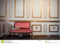 Classic Interior With Barocco Couch Stock Photo - Image ...