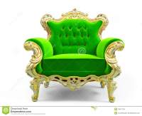 Classic luxury chair stock illustration. Image of ...