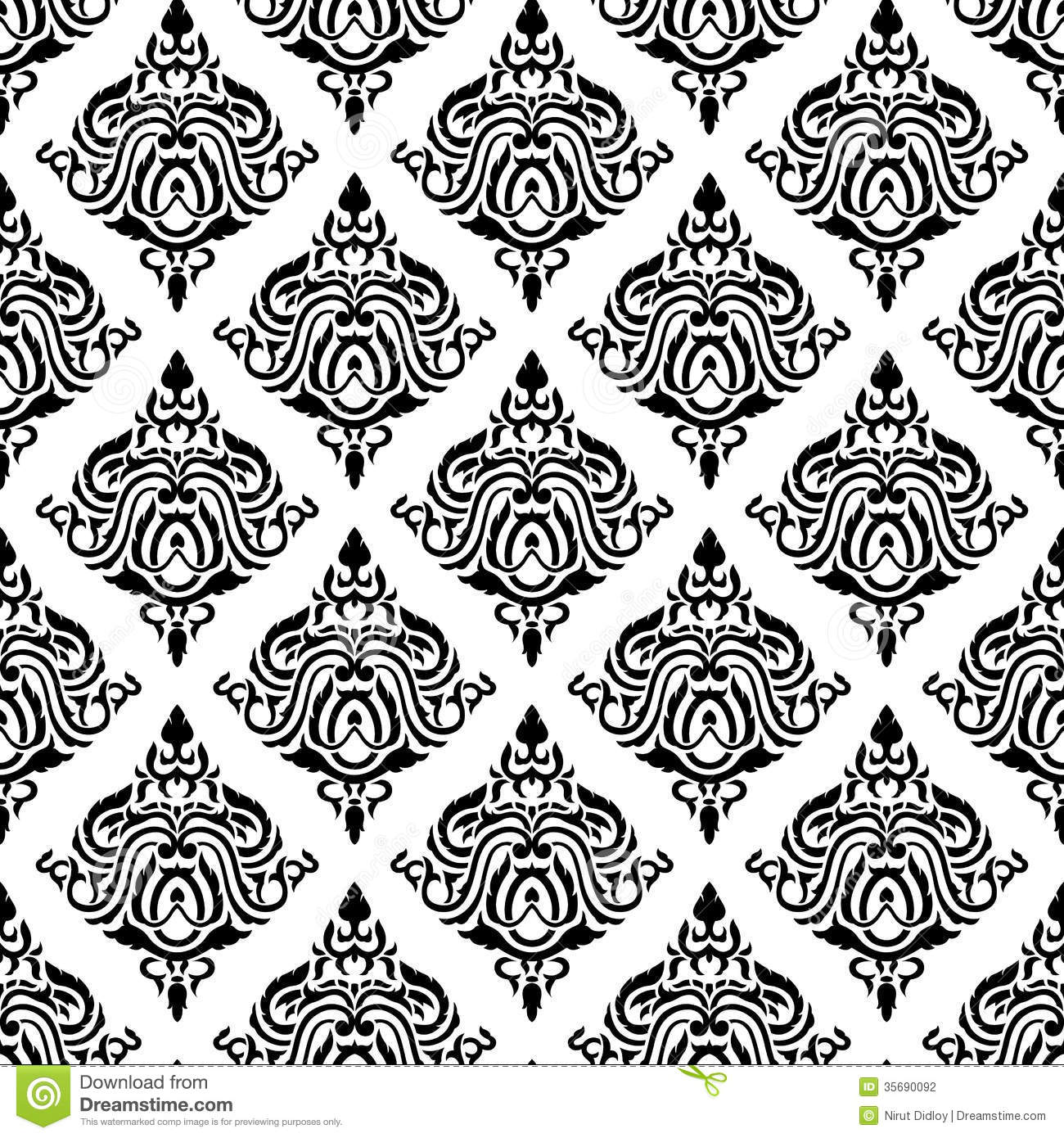 Classic pattern stock vector Image of flower ornament