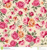 Classic roses stock vector. Image of pattern, design ...