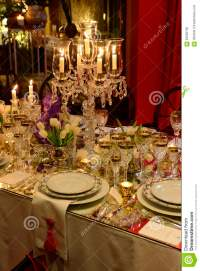 Christmas Classic Table Decoration, Dinner Event, Elegant ...