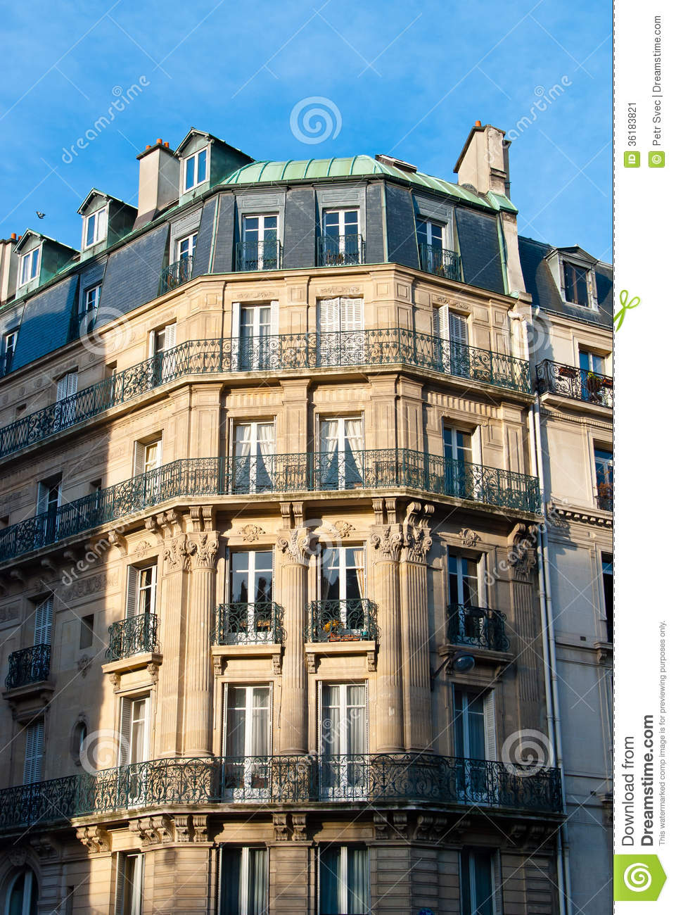 Classic townhouse stock image Image of building beautiful  36183821