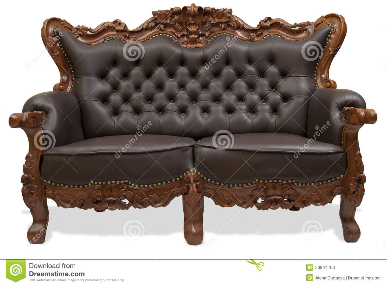 wooden carving sofa online india modular system couch garnitur lyon classical carved stock photos image 20944703