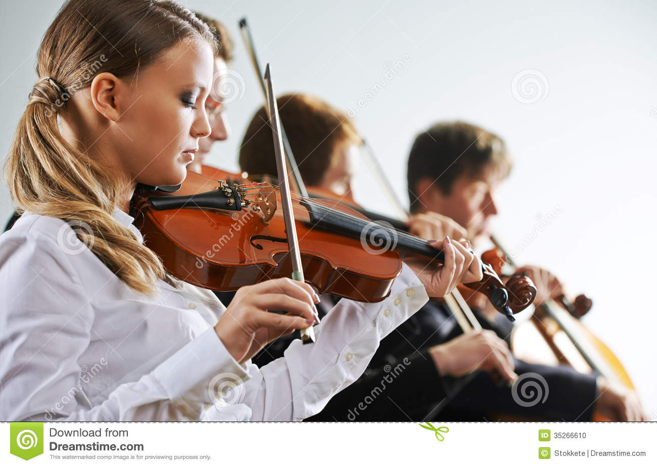 Female Music Famous Violinist Reading