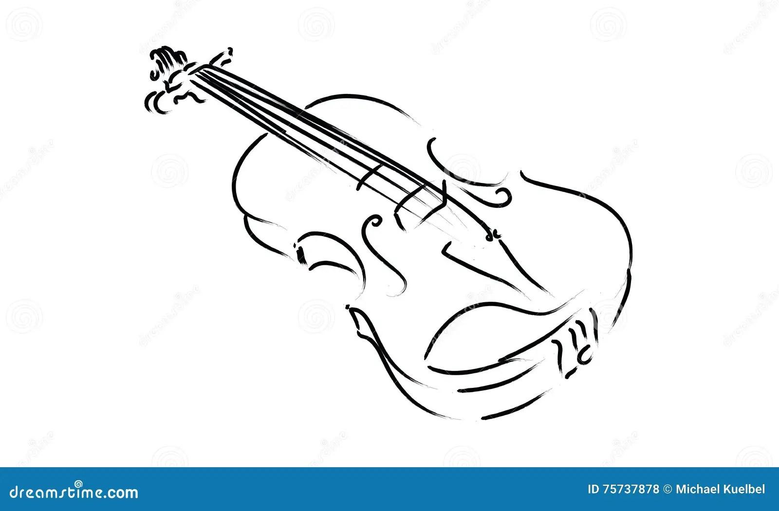 Classico Di Simbolo Del Segno Di Musica Del Disegno Dello