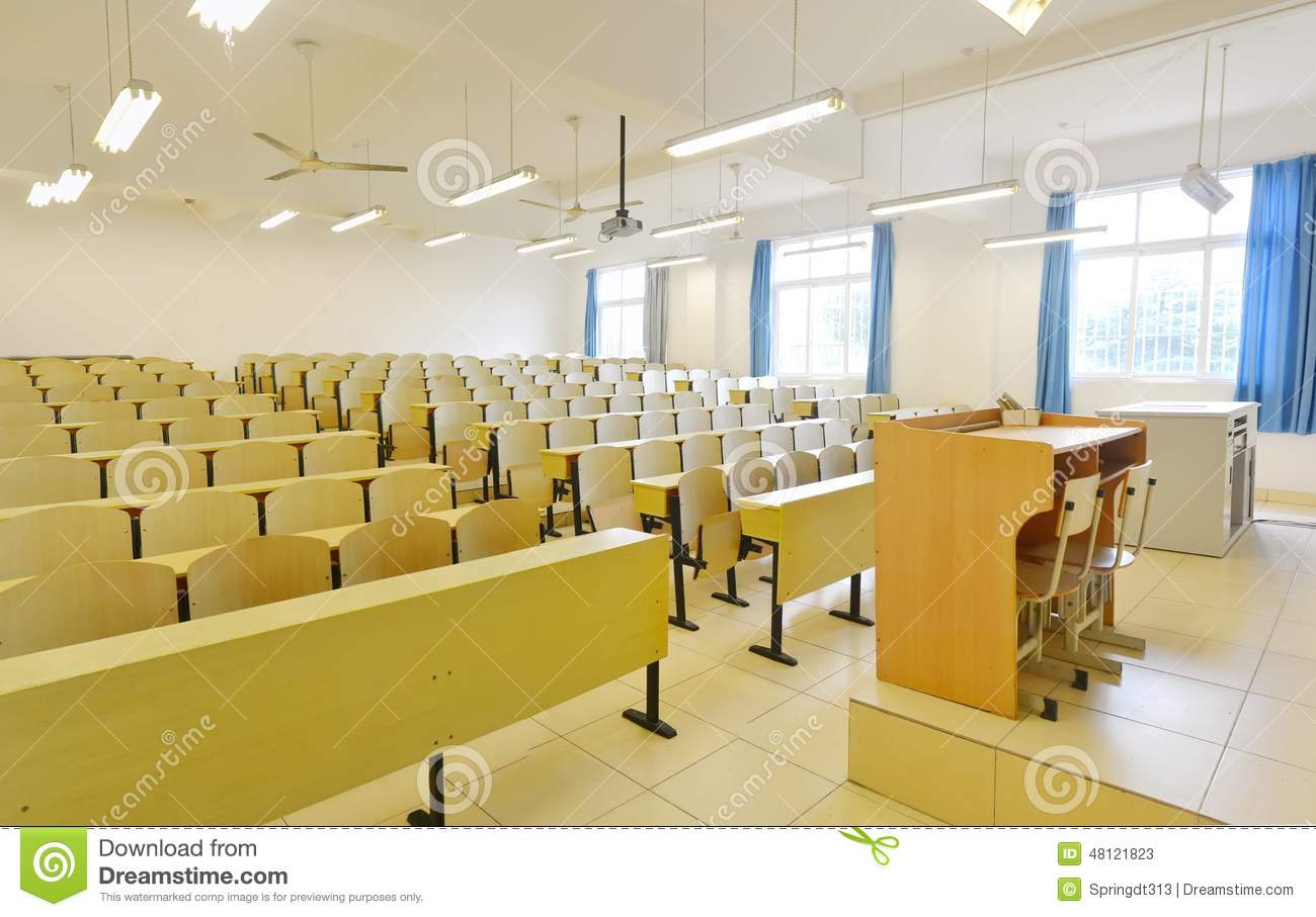 Classroom Platform Stock Photo  Image 48121823