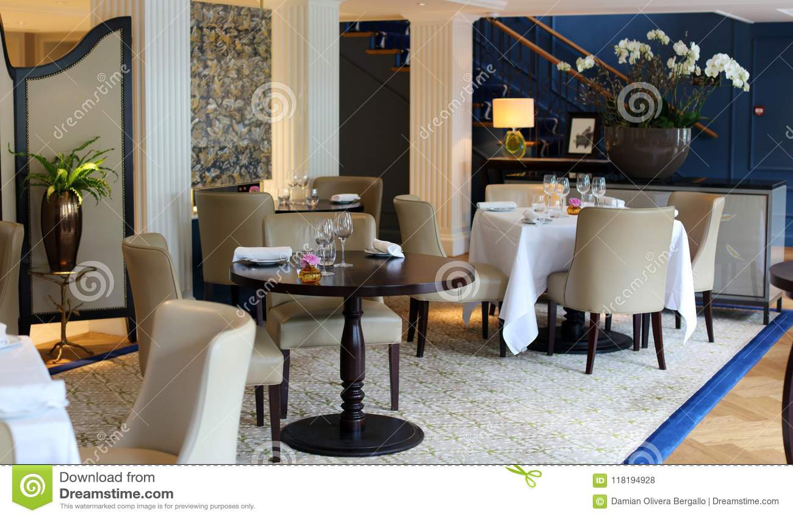 Classy Elegant And Modern Restaurant At Amsterdam The
