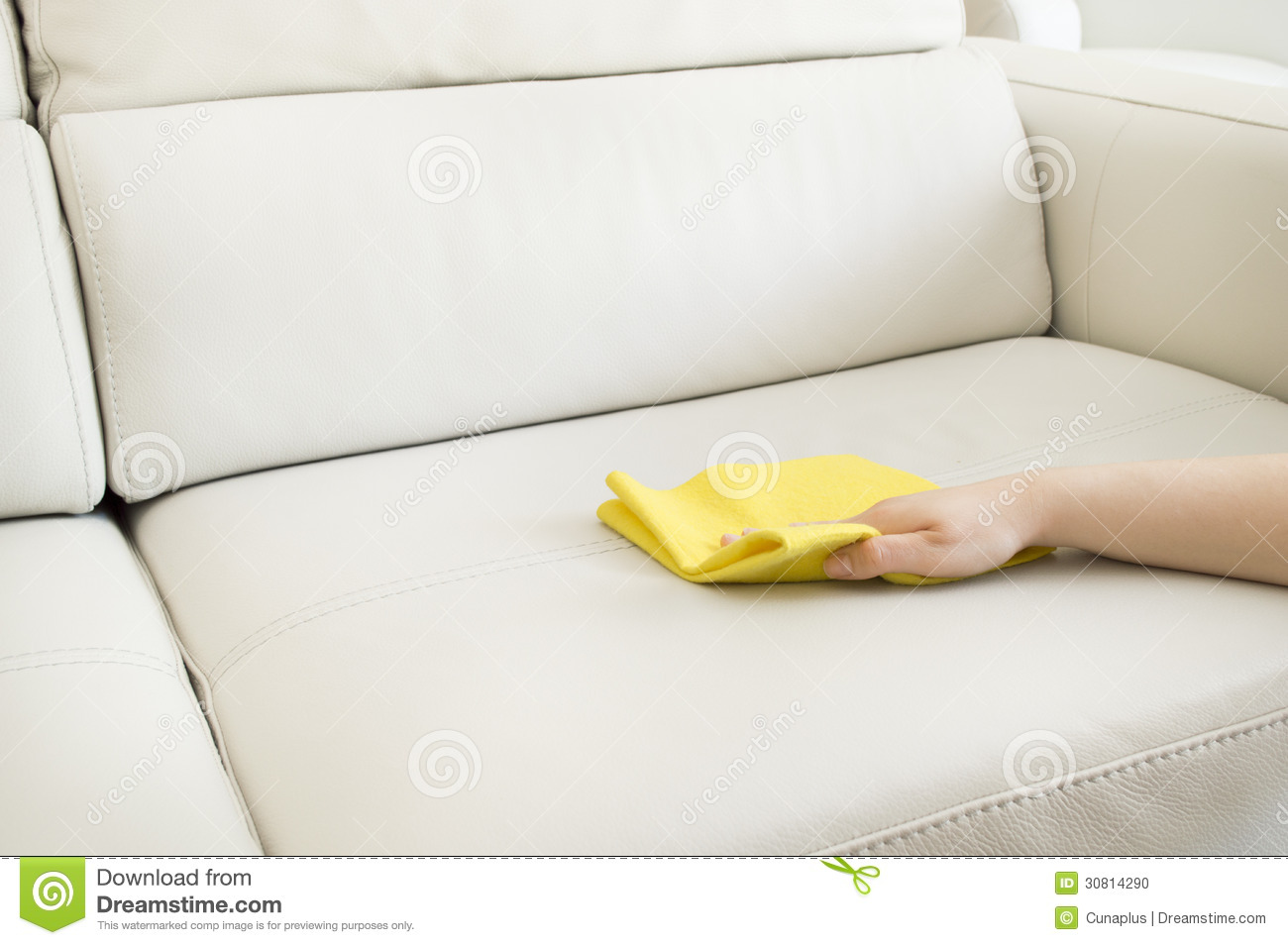 how to clean dirty white leather sofa leon s table cleaning royalty free stock image