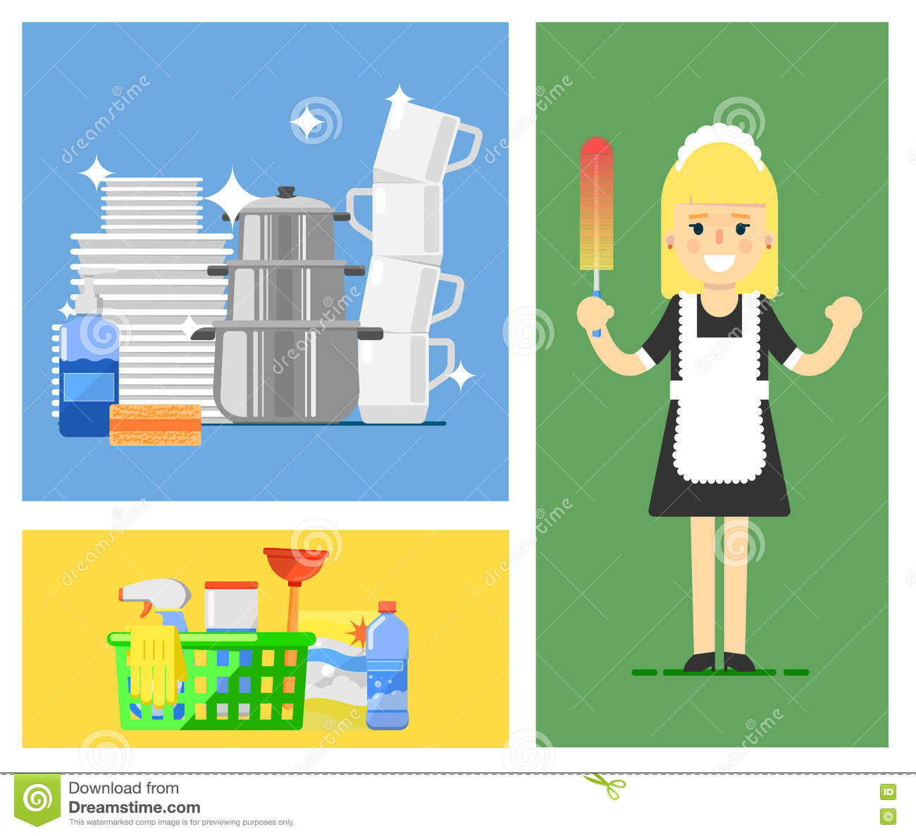 Broom Cartoons Illustrations Amp Vector Stock Images