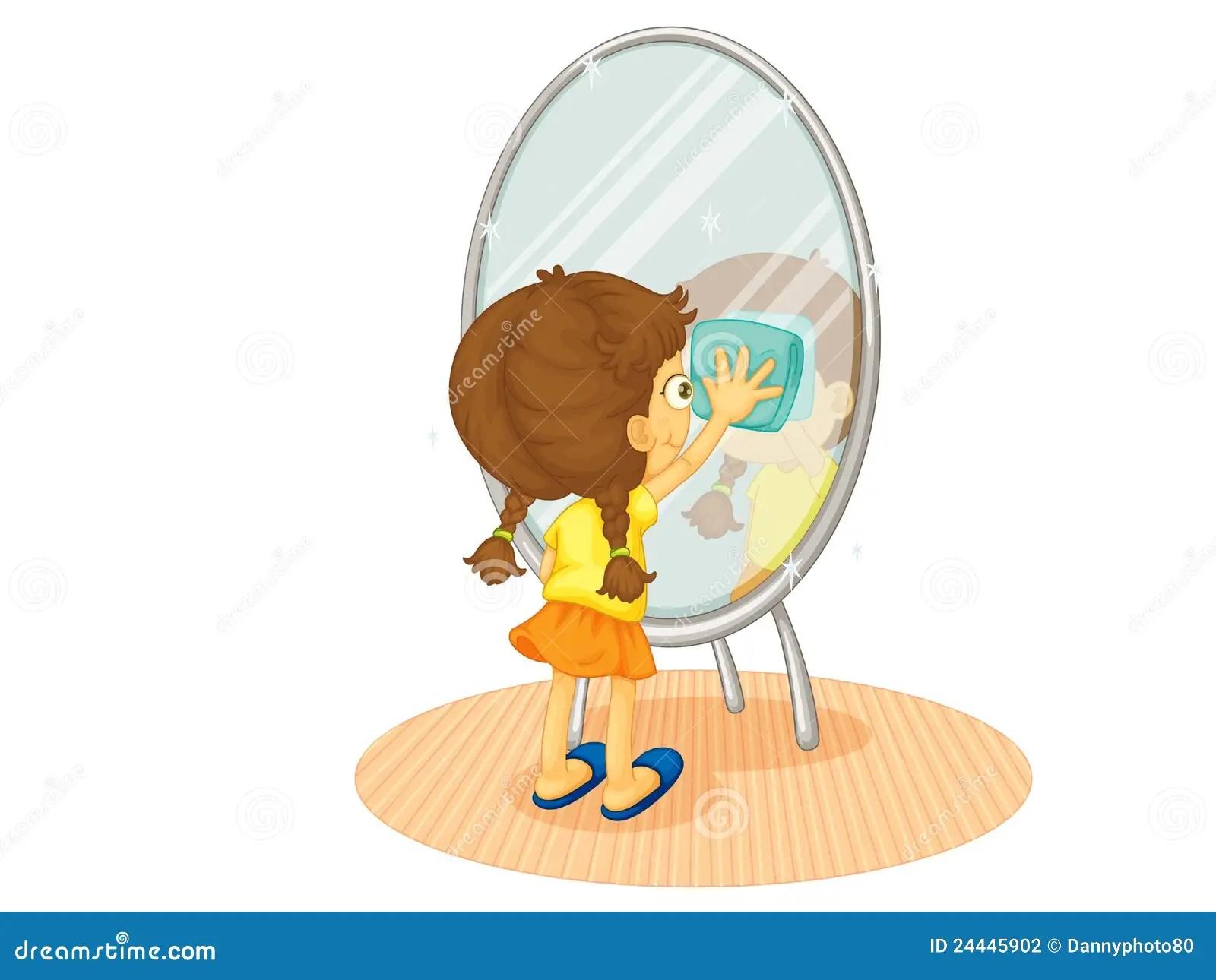 Bathroom Mirror Clip Art