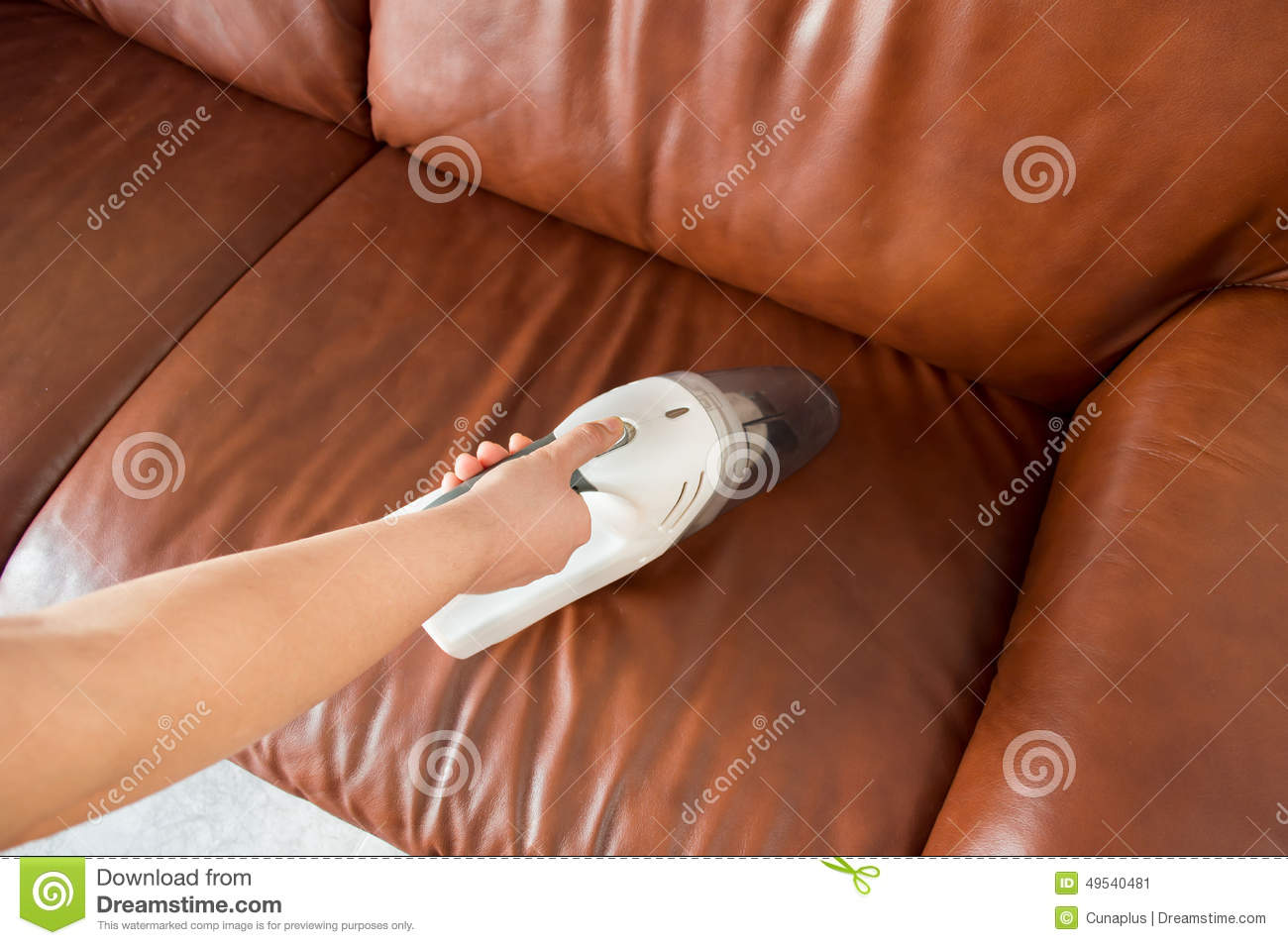 how to clean dirty white leather sofa silver crushed velvet chesterfield corner cleaning royalty free stock image