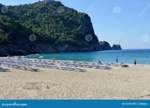 Cleopatra Beach Of Alanya Turkey Editorial