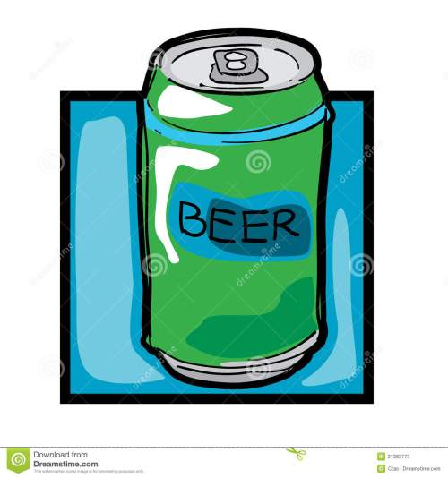 small resolution of clip art beer can