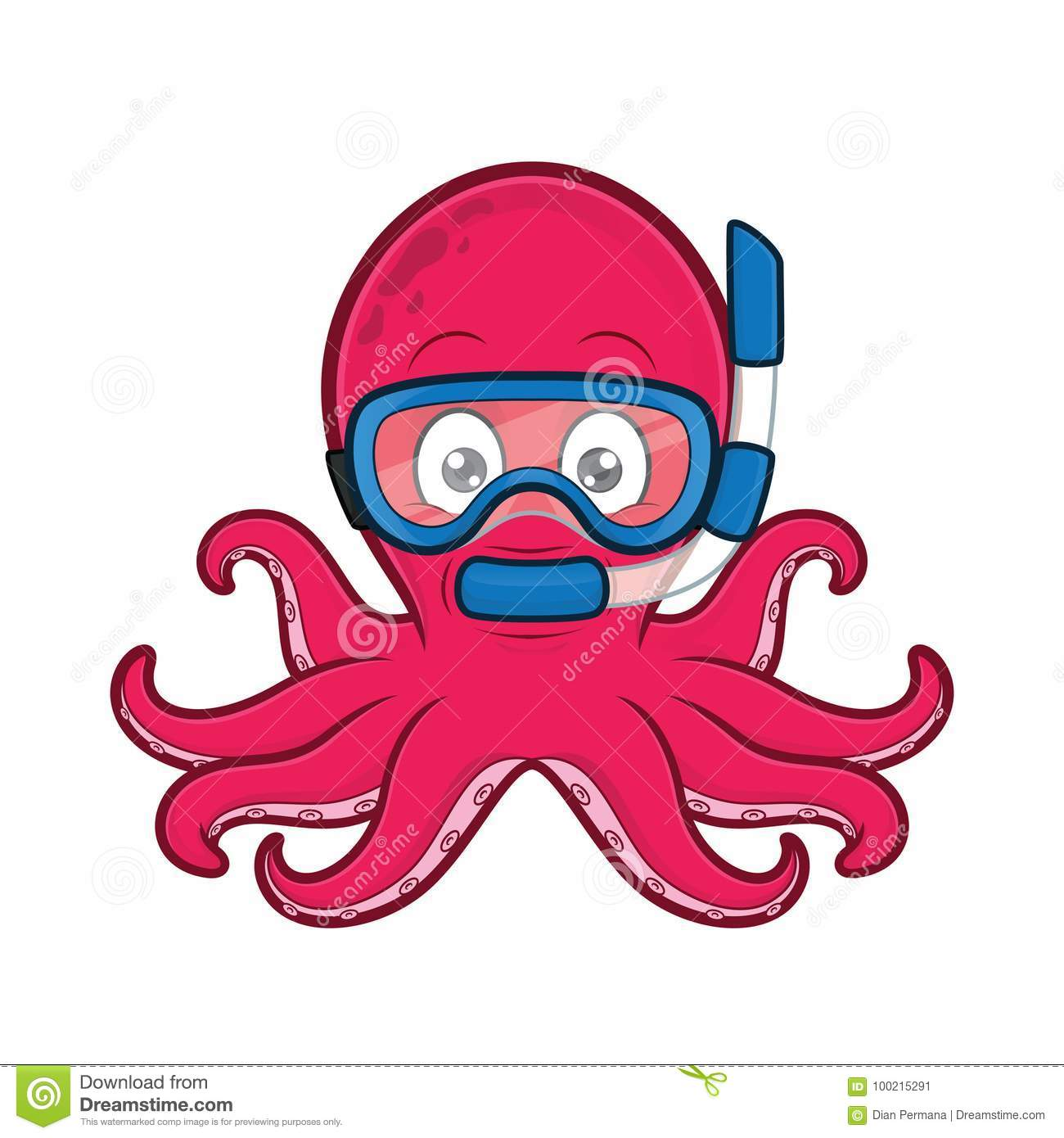 hight resolution of clipart picture of an octopus scuba diver cartoon character