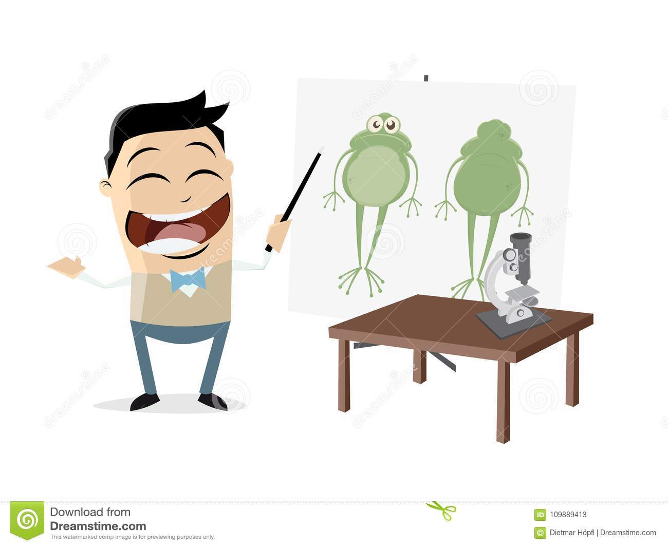 hight resolution of clipart of a teacher showing a frog
