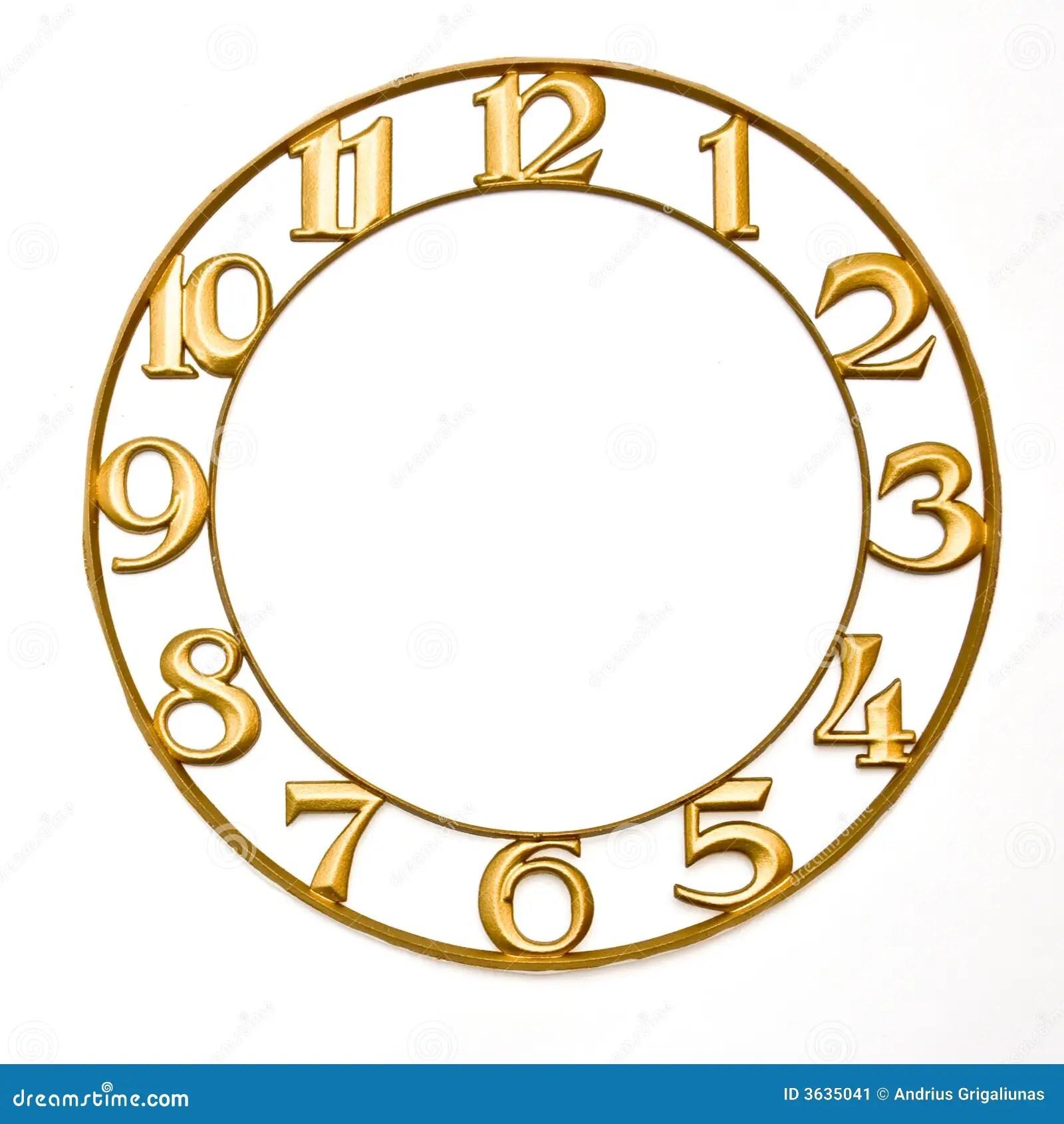 Clock Face Stock Image Image Of Twelve Face Clock Minute