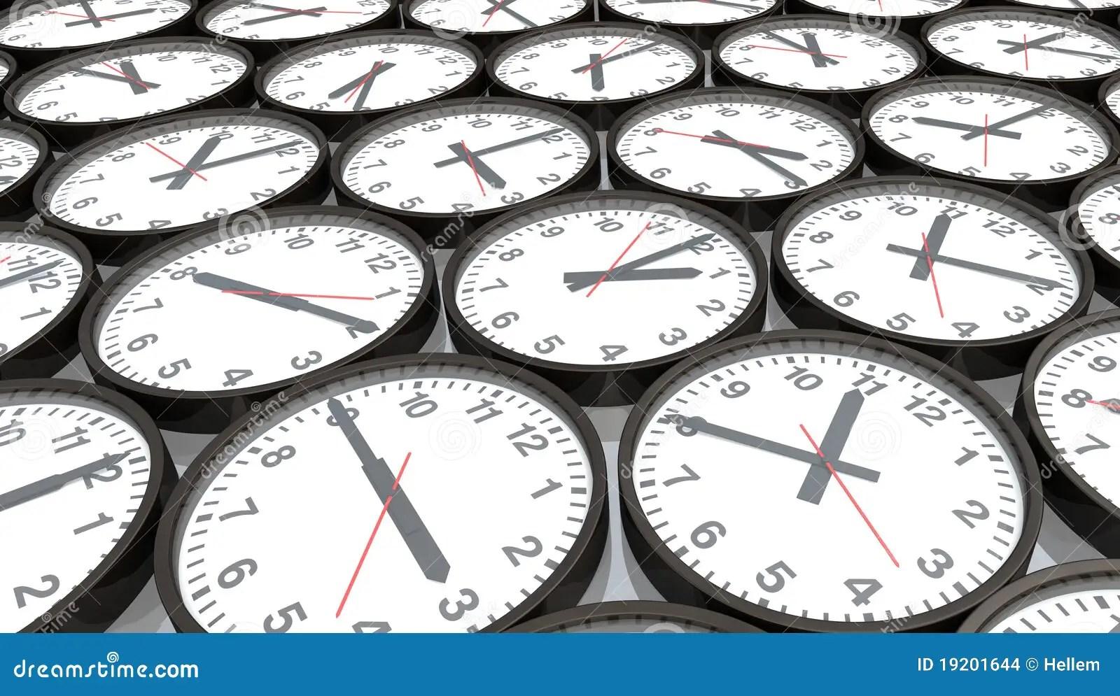 clocks stock illustration illustration