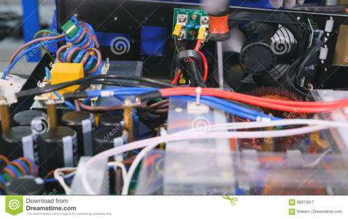 small resolution of assembling of the electric wiring of the electrical equipment 4k