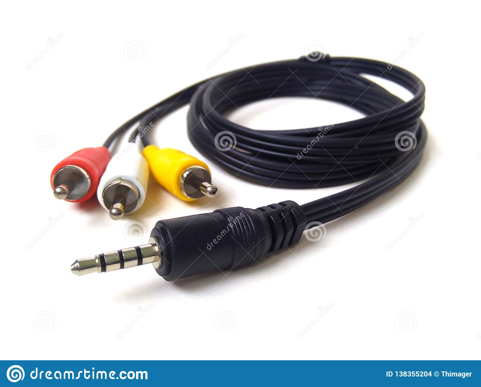 hight resolution of audio and video jack
