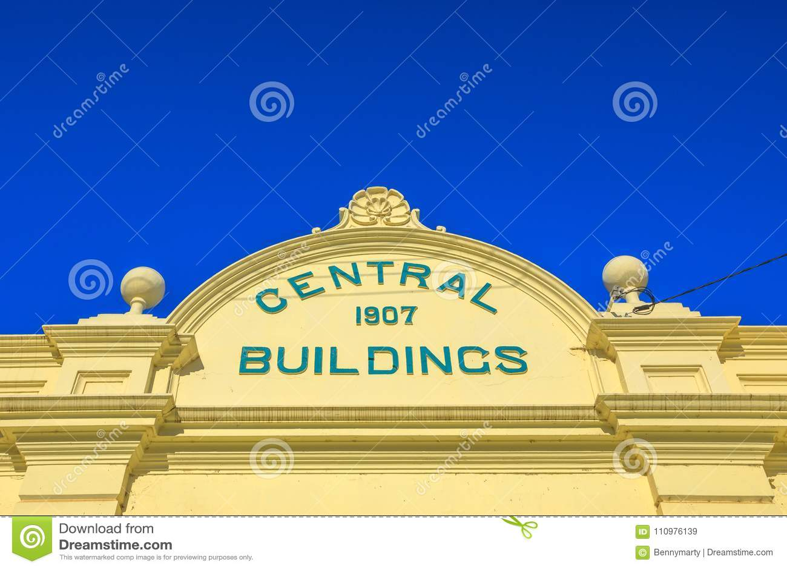 Central Buildings York Stock Image Image Of Town Landmark