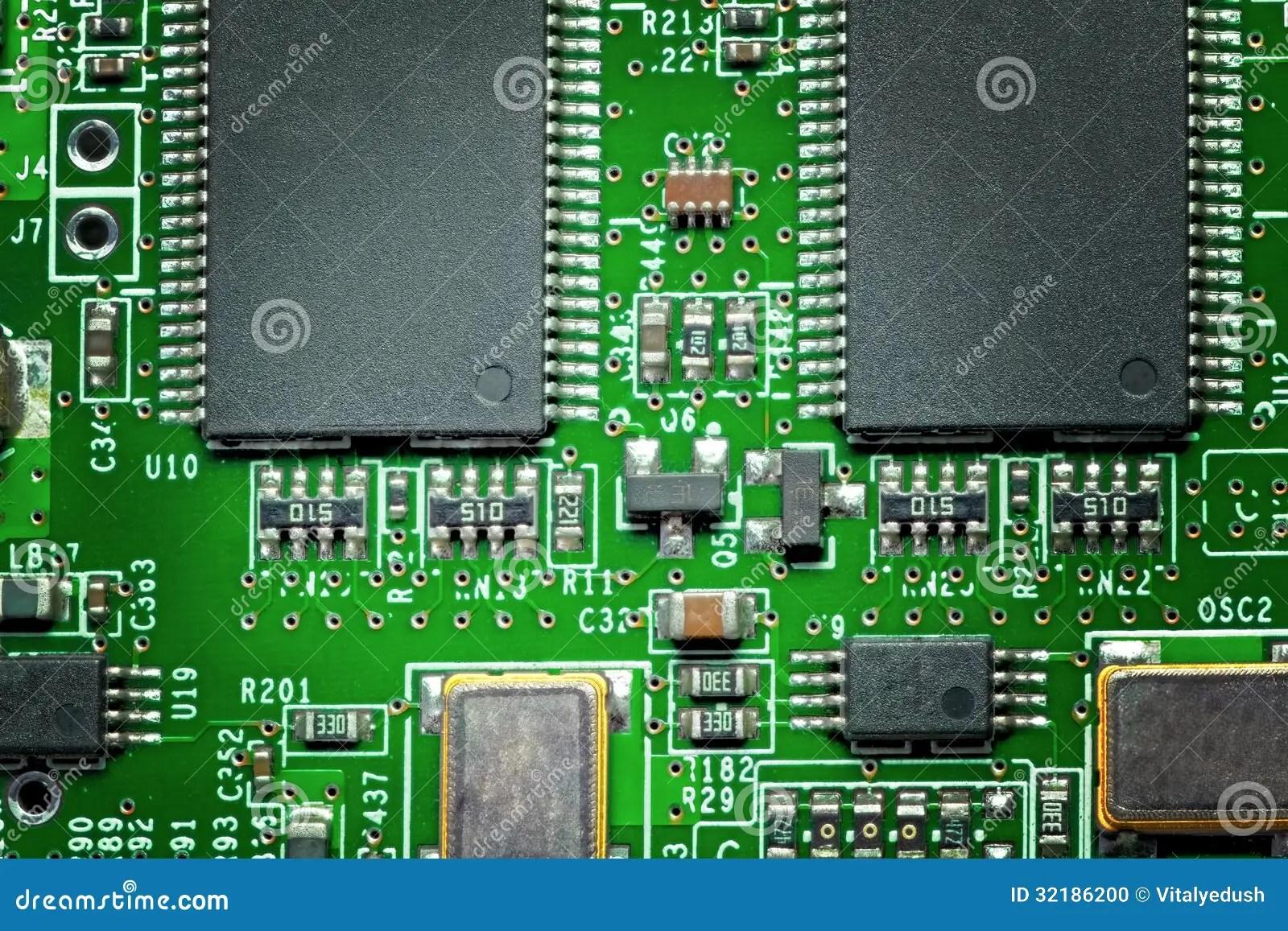 Circuit Board Stock Photo Image 33992840