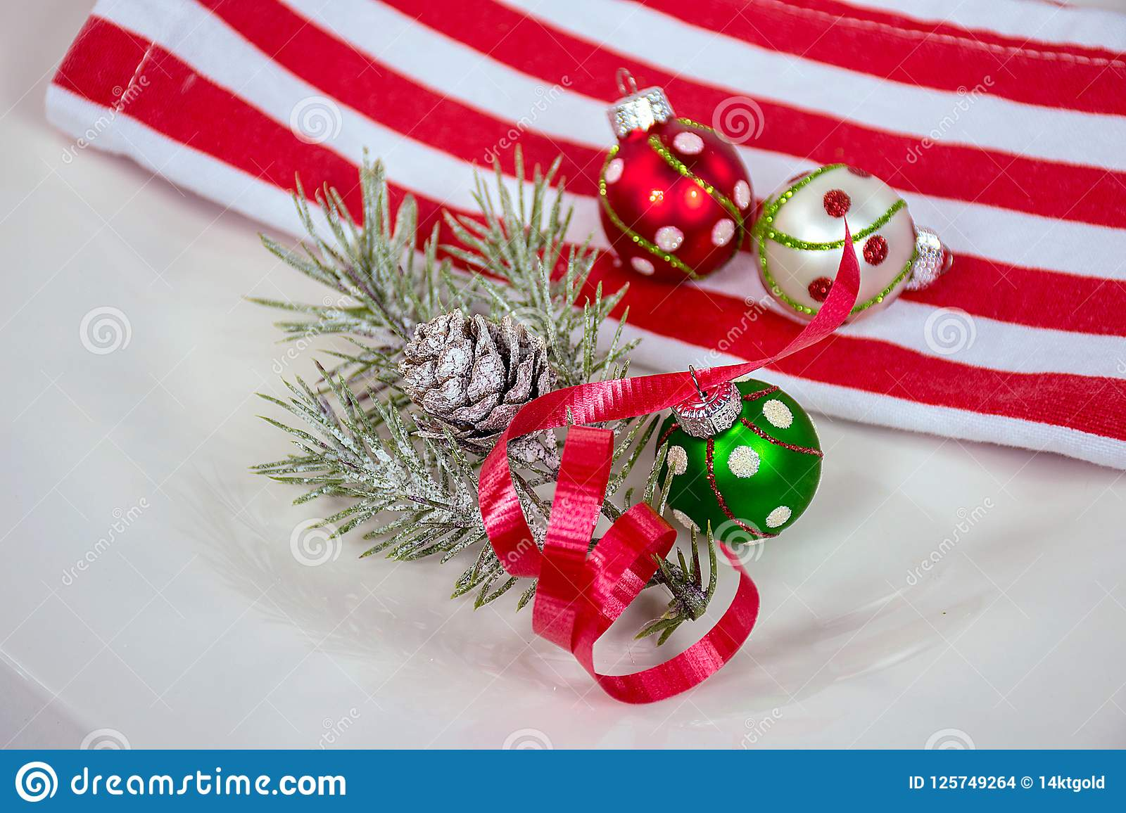 Cloth Ornaments Christmas