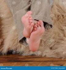 Boy Feet Close