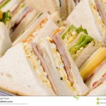 Close Up Sandwich Platter Stock Photo Image Of Service 2211830