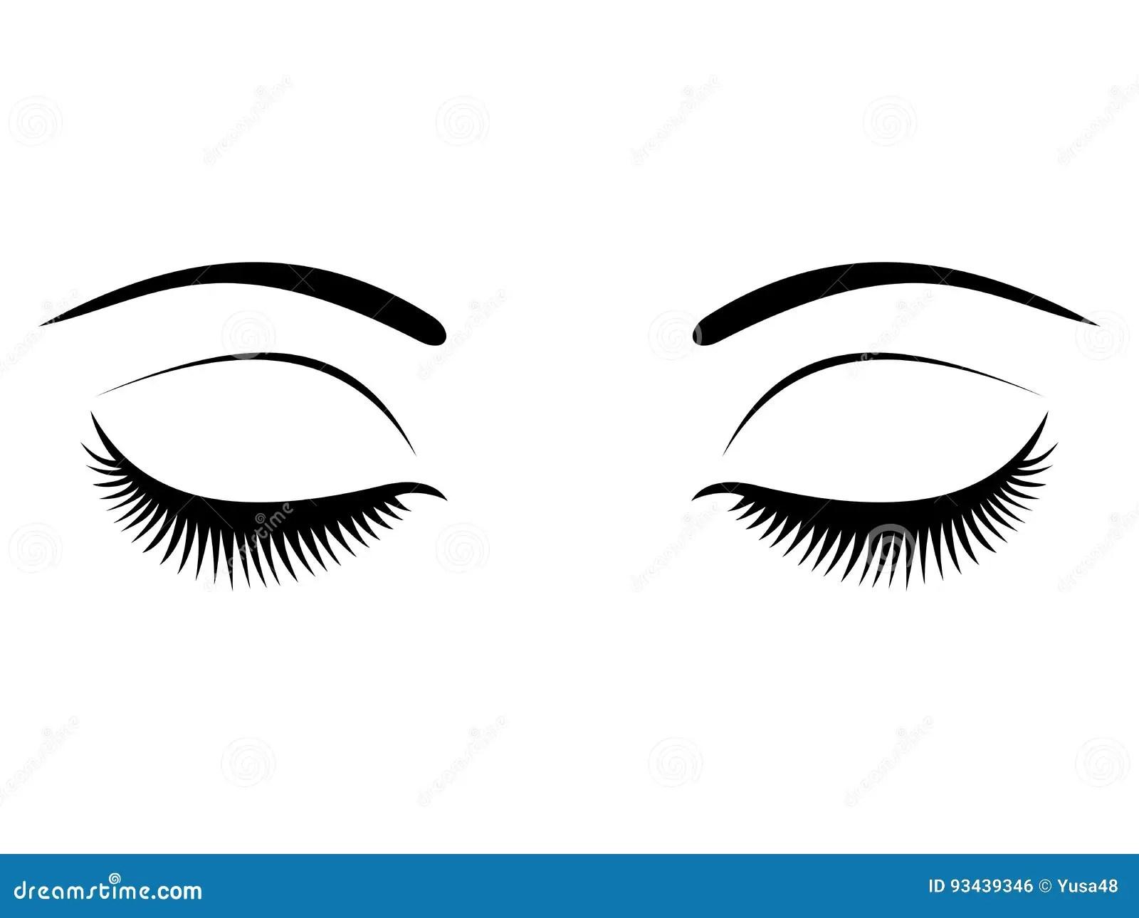 Eyelashes Cartoons, Illustrations & Vector Stock Images