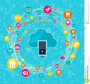 Cloud Computing Network Idea Royalty Free Stock Photography  Image: 32017947