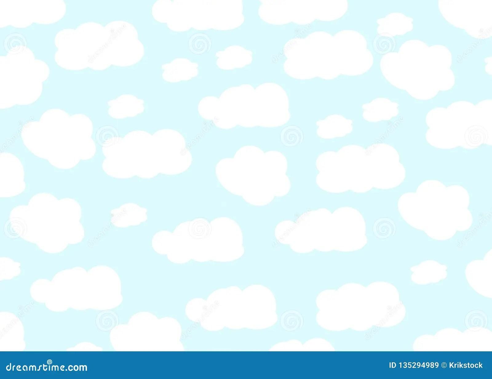 cloud design baby background